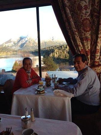 Llao Llao Hotel and Resort, Golf-Spa : Nosso café da manha no hotel ..