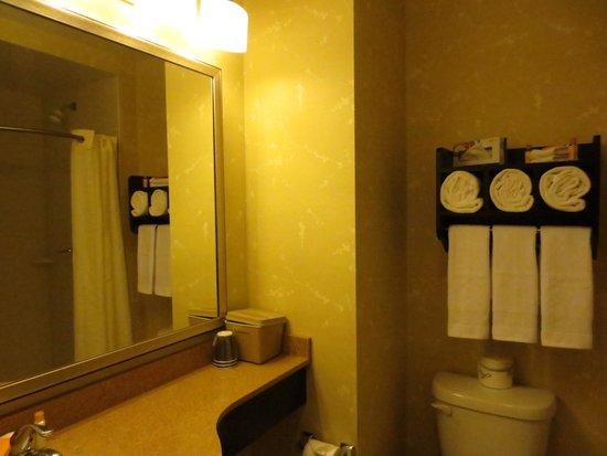 La Quinta Inn & Suites Manhattan: Washroom