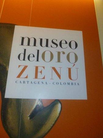 Museo del Oro Zenu : Museu do Ouro