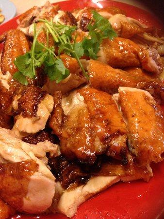 EeJiBan Chicken Rice Ball Halal: roasted chicken