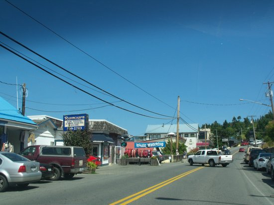 Cow Bay Marine Pub: Main street.