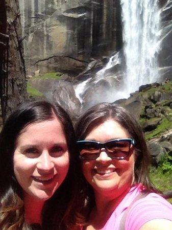 Tenaya Lodge at Yosemite: at vernal falls in yosemite
