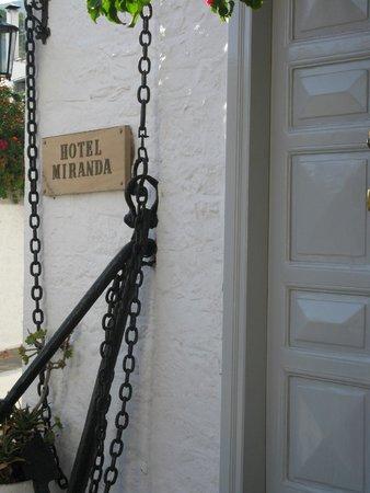 Miranda Hotel : Hotel Miranda entrance