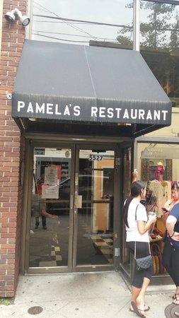 Front of Pamela's