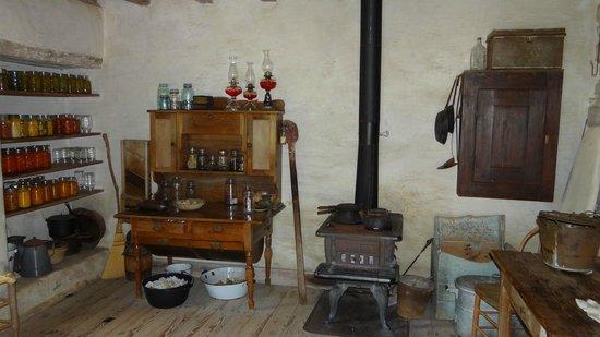 Lyndon B. Johnson State Park & Historic Site: Farmhouse kitchen