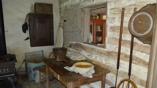 Lyndon B. Johnson State Park & Historic Site: Farmhouse
