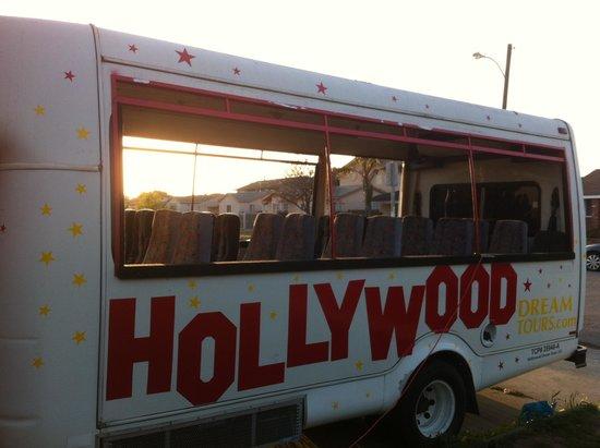 Hollywood Dream Tours: 25 passenger bus