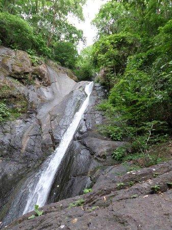 Adventure Park & Hotel Vista Golfo : waterfall!