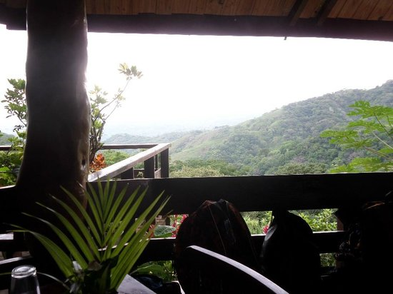 Adventure Park & Hotel Vista Golfo: View from the check-in area