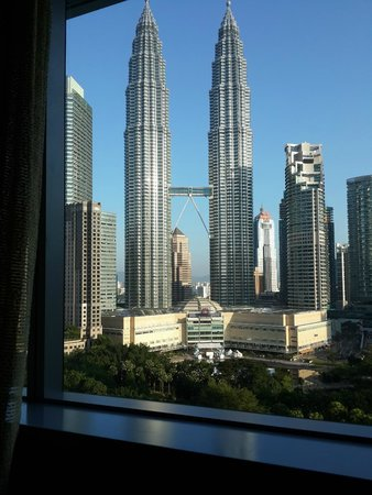 Great view of Petronas Twin Towers