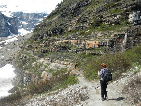 Great Divide Day Hikes: plain of 6 glaciers