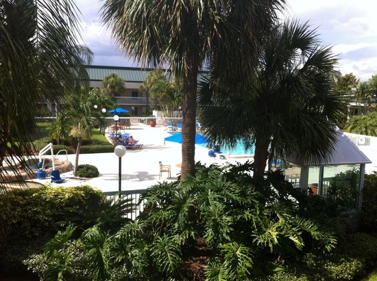 Hampton Inn Clearwater Central : Great pool