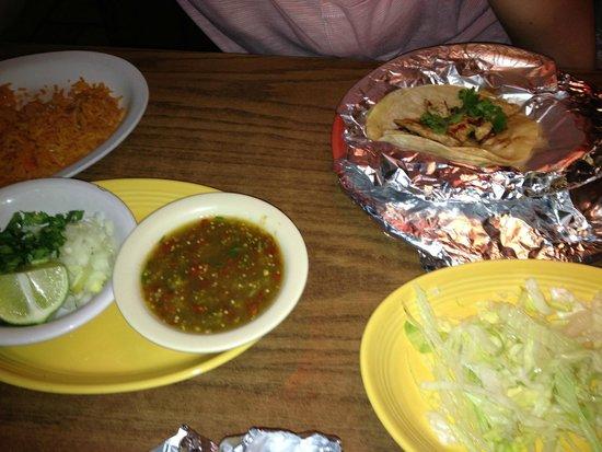 Don Ramon: Chicken Soft Tacos