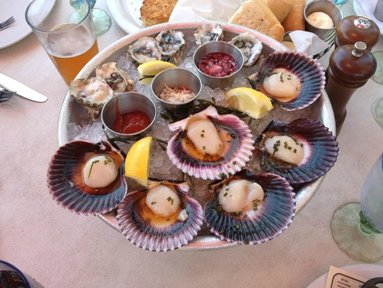 Lou & Mickey's: Oysters & Scallops