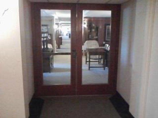 Klopfenstein Inn And Suites: 2nd Floor Entrance to Lazy Boy Furniture