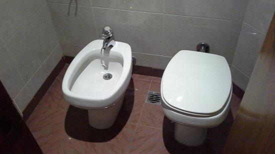 Hotel Plaza del Sol: Toilette