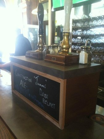 Titletown Brewing Company: cask pulls but only on certain days...I missed it