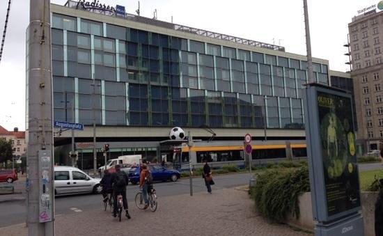Radisson Blu Hotel Leipzig : Radisson blue
