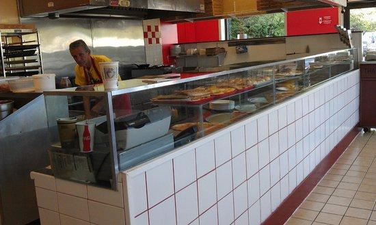 I LOVE NY PIZZA: Plenty of slice varieties to choose from.