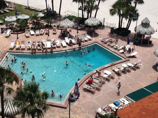 Sheraton Sand Key Resort: Room with a view