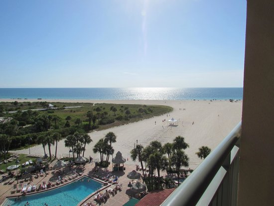 Sheraton Sand Key Resort : Room with a view