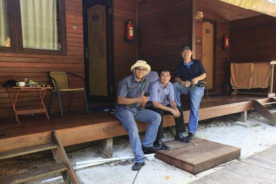 Raja Ampat Dive Lodge: Di depan kamar