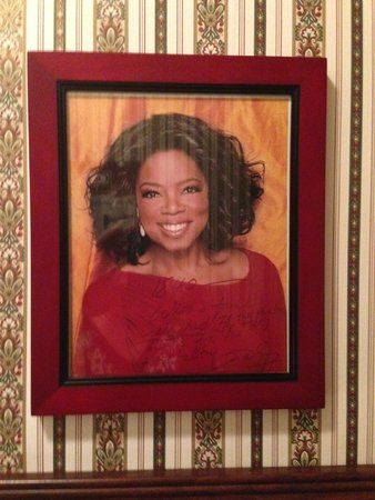 1842 Inn: Oprah From The Wall of The Famous Who Have Stayed Here