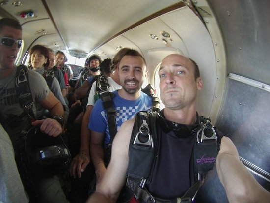 Skydive Space Center: Waiting to hit 18k