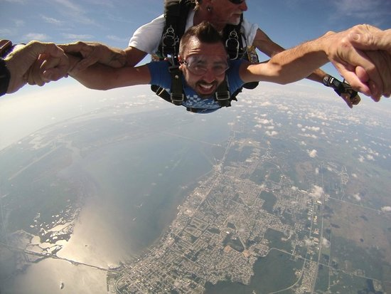 Skydive Space Center: Freefall