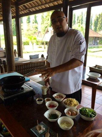 The Chedi Club Tanah Gajah, Ubud, Bali – a GHM hotel: Chef Dean