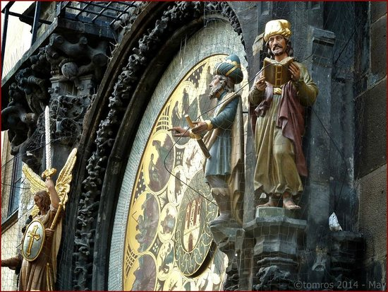Prager Altstadt: Prague- Orloj, Astrological Clock