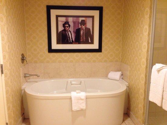 Planet Hollywood Resort & Casino: Really nice bathroom.