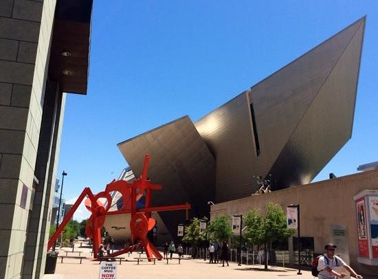 Denver Art Museum : striking exterior