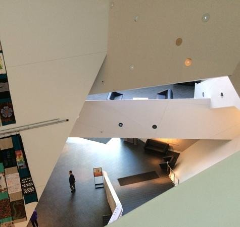 Denver Art Museum : striking interior
