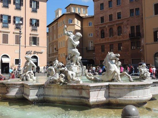 Piazza Navona : The Third Fountain
