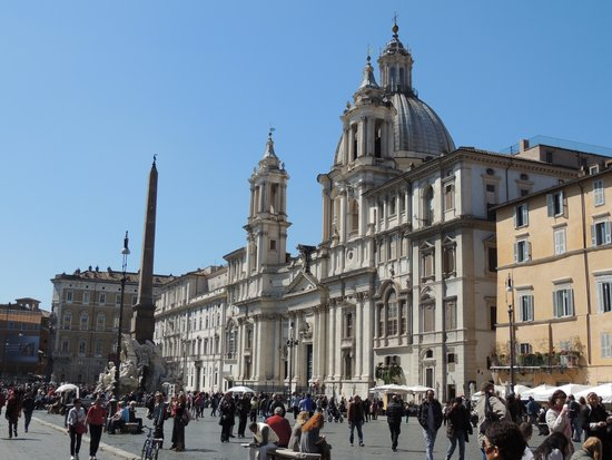 Piazza Navona & Church of St. Agnes