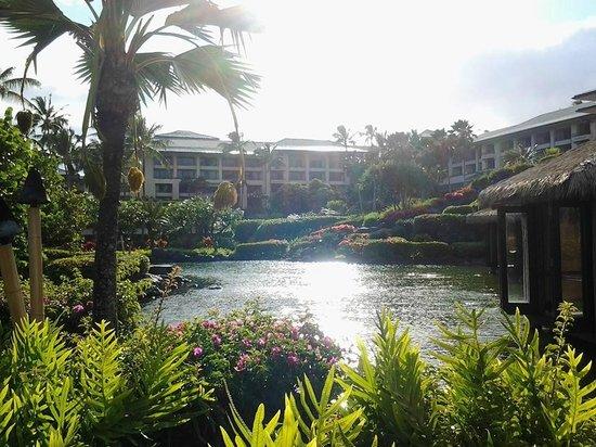 Grand Hyatt Kauai Resort & Spa: The lagoon