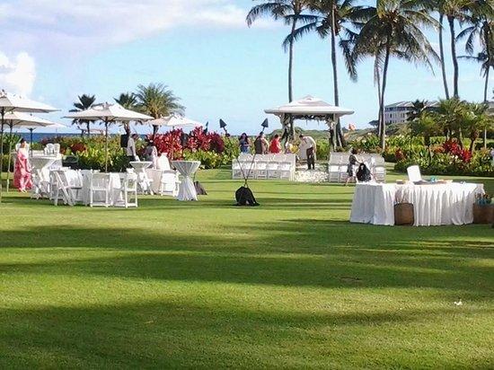 Grand Hyatt Kauai Resort & Spa: Private ceremony