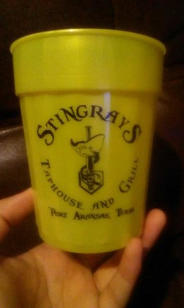 Stingrays Taphouse and Grill: The souvenir...