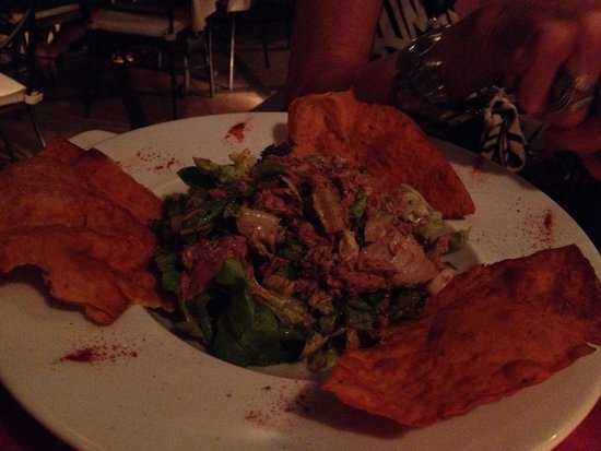 Rastoni: Taco basket salads - awful