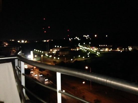 Grand Crucero Iguazu Hotel : vista del balcon 2