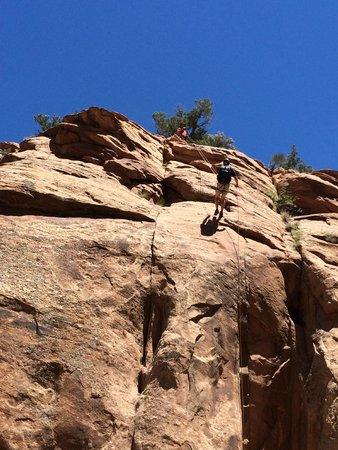 Moab Desert Adventures: Easy does it