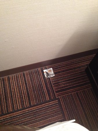 Court Hotel Hiroshima: Not the cleanest... Found an opened condom underneath the bed.