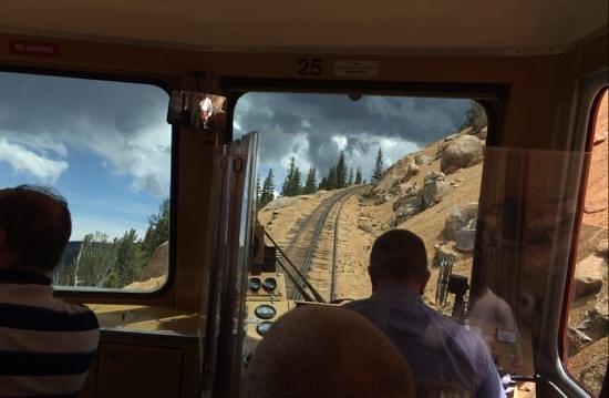 Pikes Peak Cog Railway: keep going