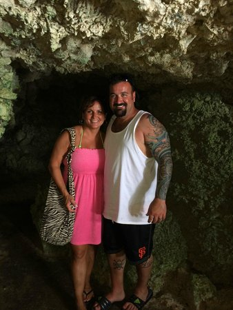 Secrets Wild Orchid Montego Bay: The Caves on our way to Mayfield Falls!