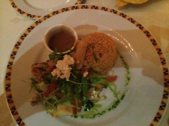 Secrets Wild Orchid Montego Bay: El Patio dinner, yummmm!