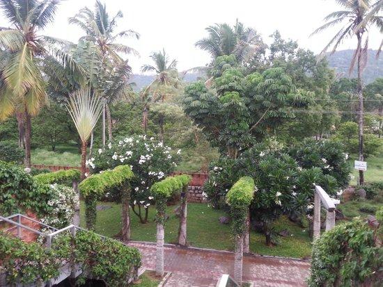 The Windflower Resort & Spa, Mysore: Chamundi in the background