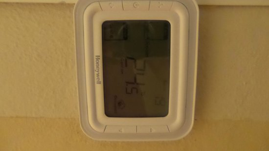 VIK Hotel Arena Blanca: this is the temp the whole week.