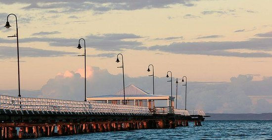 LaVida on Anzac: Shorncliffe Pier at sunset