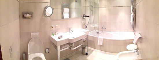 Hotel Monte Rosa: I love this bathroom